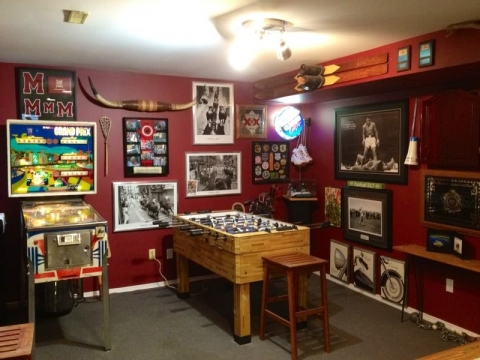 How to Turn the Basement into a Man Cave Picture