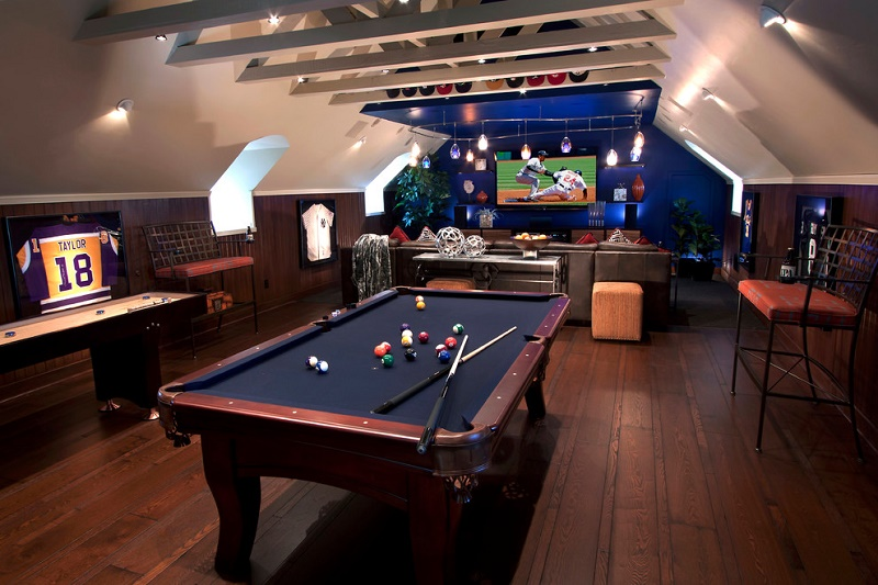 Ideas for Creating the Ultimate Basement Man Cave Picture 3