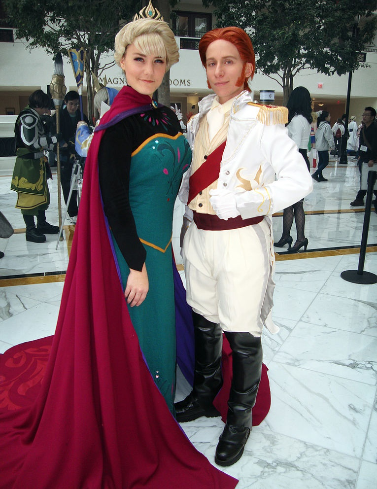 Any character from Frozen. Overrated Couples Halloween ...  sc 1 st  Man Nowhere : movie character couples costume ideas  - Germanpascual.Com